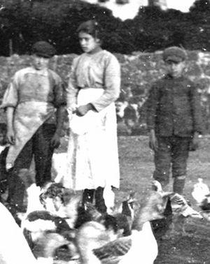 La straordinaria immagine di santa Maria Goretti, scattata nel 1902 pochi mesi prima della sua morte.