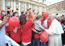 Il Papa incontra i lavoratori di Meridiana