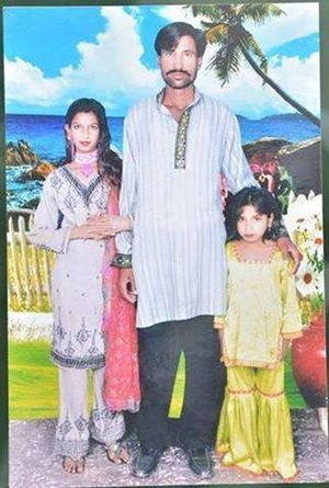I due sposi cristiani trucidati in Pakistan per via della loro fede. Foto: Asianews