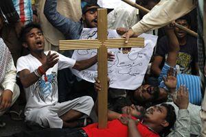 Cristiani in Pakistan: una minoranza perseguitata. Foto Reuters.