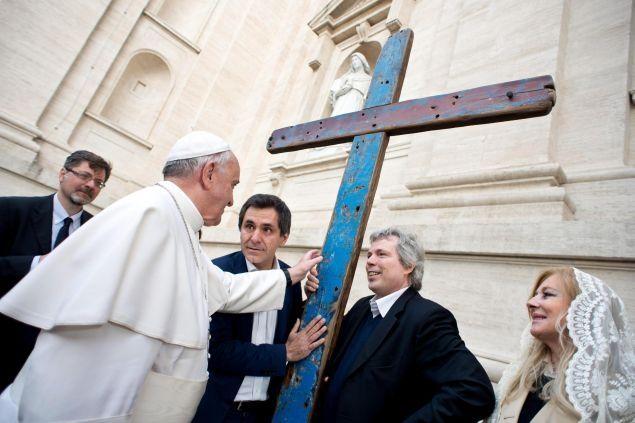 Da oggi la Croce di Lampedusa è a Castel Bolognese