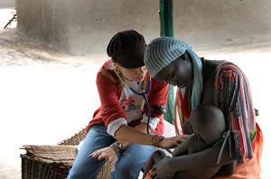 Un intervento di Msf in Sudan (foto Brendam Bannon)