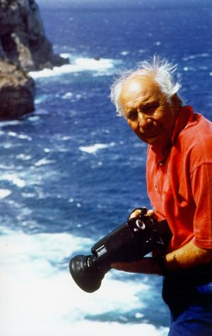 L'esploratore e documentarista Folco Quilici.