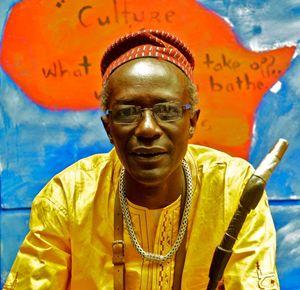 Il regista senegalese Moussa Sene Absa.