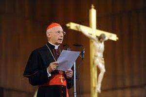 Il cardinale Angelo Bagnasco.