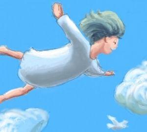 """Un'immagine del videogioco """"Cloud"""""""