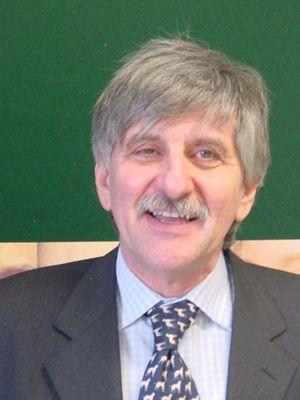 """Giorgio Simonelli, docente di Storia della radio e della televisione alla Cattolica di Milano e opinionista del programa di Raitre """"TvTalk""""."""