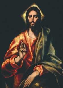 El Greco (1541-1614): Il Salvatore, Toledo, Cattedrale.