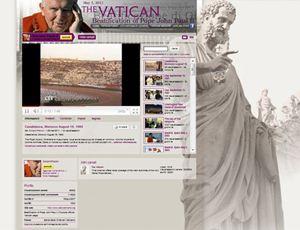 Il canale vaticano di Youtube.