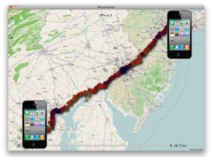 La tecnologia consente di controllare a distanza, metro per metro, un altro cellulare dal proprio