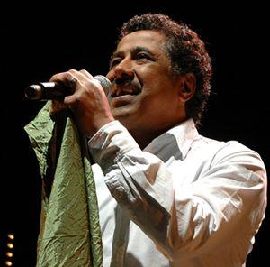 Il cantante algerino Khaled