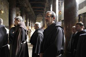 Padre Pierluigi Pizzaballa, custode di Terra Santa (Reuters).