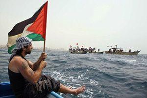Vittorio Arrigoni, l'attivista filo-palestinese italiano rapito e ucciso il 14  aprile a Gaza city.