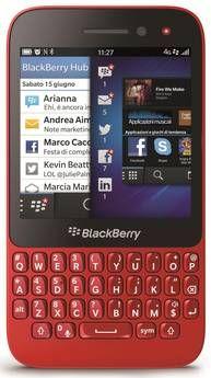 Il nuovo BlackBerry Q5 (Ansa).