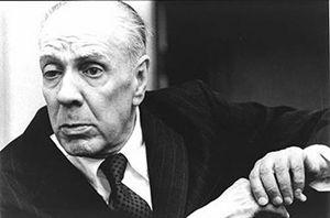Il grande scrittore argentino Jorge Luis Borges.