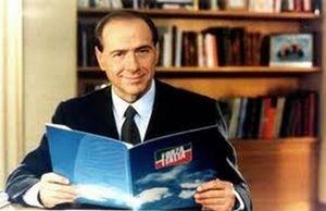 Silvio Berlusconi nel 1994.