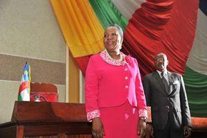 Catherine Samba Panza, presidente ad interim della Repubblica Centrafricana