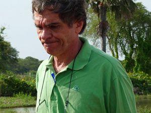 Il dottor Enzo Pisani, medico del Cuamm. E' rimasto a operare all'ospedale di Yrol (Foto Scalettari)..