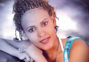 Hagerawit Shishay, 22 anni, morta nella strage di Lampedusa, sorella di padre Musie (nella foto di copertina).