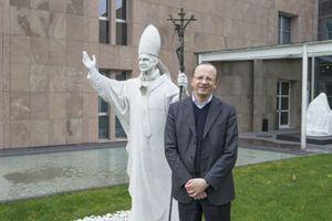 Don Angelo Maffeis, presidente dellì'Istituto Paolo VI. Foto di Ugo Zamborlini.