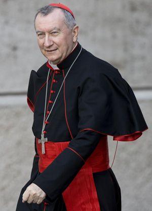 Il cardinale Pietro Parolin, Segretario di Stato della Santa Sede. Foto: Ansa.