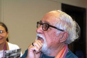 Padre Alex Zanotelli (Foto di Andrea Ferrari).