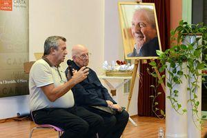 Don Colmegna ricorda Martini con il gesuita Padre Bartolomeo Sorge
