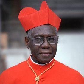 Il cardinale Robert Sarah, 69 anni, è nato in Guinea Bissau