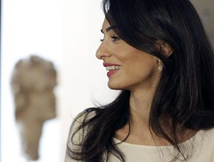 Amal Alamuddin-Clooney, seguirà la causa bringthemback  (Ansa).