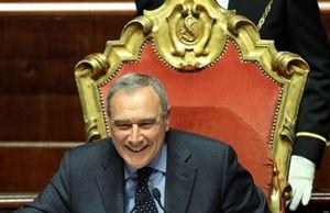 Il presidente del Senato Pietro Grasso (Ansa).