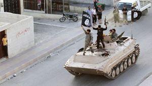 Miliziani dell'Isis (Reuters).