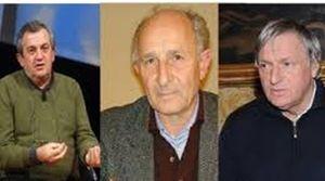 Da sinistra: don Virginio Colmegna, don Gino Rigoldi, don Luigi Ciotti.
