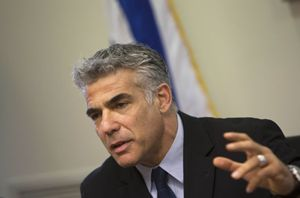 Il ministro Yair Lapid (Reuters).