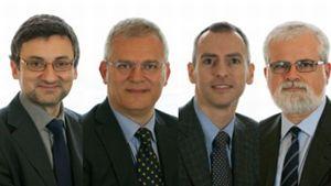 I quattro senatori dissidenti del M5S.
