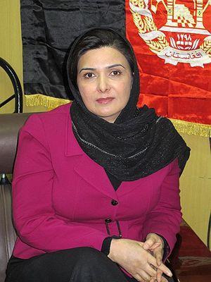 Suraya Pakzad, direttrice dell'organizzazione Voice of Women (Foto di Romina Gobbo).