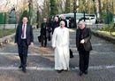 Papa Francesco agli esercizi spirituali di Ariccia