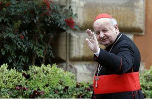 Il cardinale Dziwisz (Reuters).