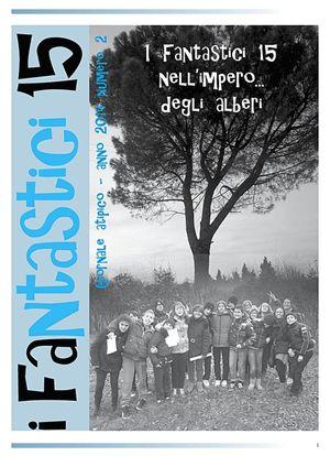 """La copertina del prossimo numero. Nella foto di copertina: la redazione de """"I Fantastici 15""""."""