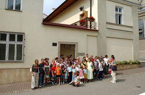 La casa natale di Karol Wojtyla a Wadowice, non lontano da Cracovia, oggi divenuta museo.