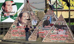 Propaganda elettorale per Al Sisi (Reuters).