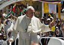 Il Papa al Cenacolo: «Da qui la Chiesa parte missionaria»