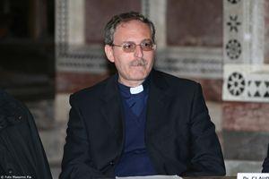 Mons. Pasquale Iacobone, responsabile del Dipartimento Arte e Fede del Pontificio Consiglio della Cultura