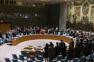 Una riunione del Consiglio di sicurezza delle Nazioni Unite. Foto Reuters.