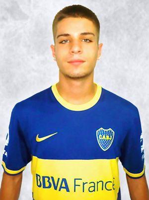Francesco Serafino, 16enne cosentino tesserato nelle giovanili del Boca Juniors.