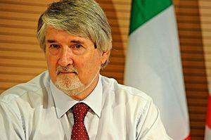 Giuliano Poletti, ministro del Lavoro e delle Politiche sociali (Foto Ansa).