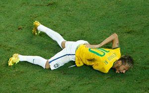 Neymar non potrà giocare la partita Germania - Brasile.