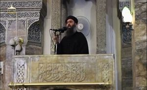 Abu Bakr al-Baghdadi. Foto Reuters.