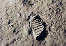 L'impronta dell'uomo sulla Luna (Reuters).