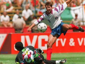 Oleg Salenko, chi era costui? L'autore di ben 5 gol in una partita mondiale: Russia-Camerun 6-1 del 1994.