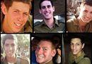 Israele, i ragazzi caduti a Gaza